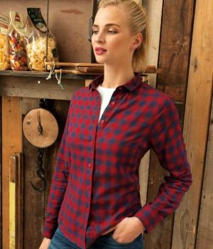 Dámská košile s dlouhým rukávem Premier Workwear PR350 1b3dc5f4f6
