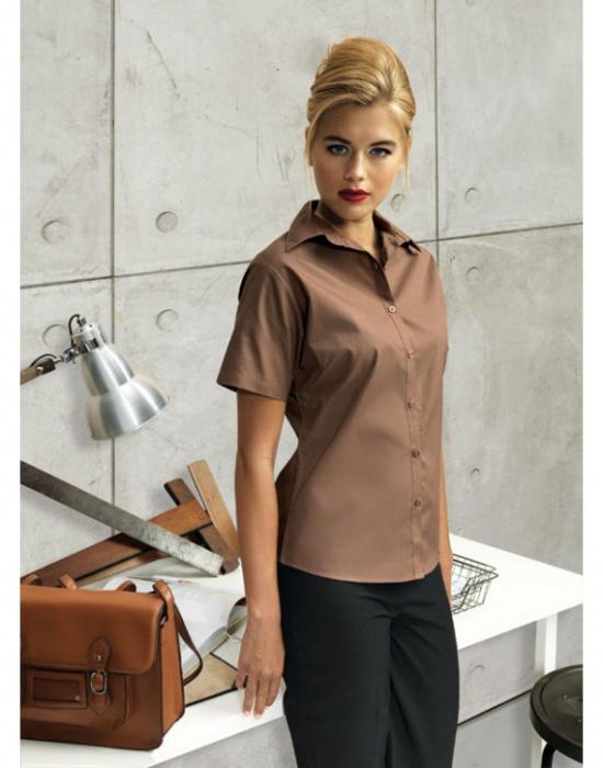 ... Dámská blůza s krátkým rukávem Premier Workwear  Dámská košile ... e9b56686c8